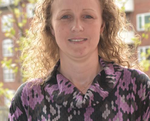 Kliniksassistent Stine Larsen